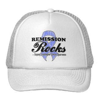 Remission Rocks - Esophageal Cancer Awareness Trucker Hat