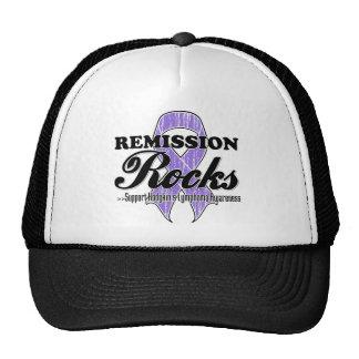 Remission Rocks - Hodgkin's Lymphoma Awareness Trucker Hat