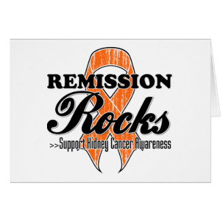Remission Rocks  - Kidney Cancer Survivor Card
