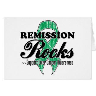 Remission Rocks - Liver Cancer  Awareness Cards