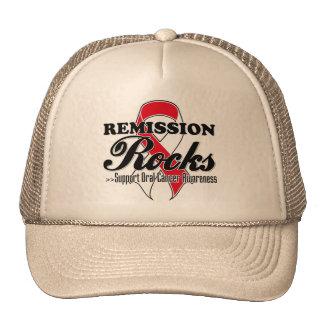Remission Rocks - Oral Cancer Awareness Hats
