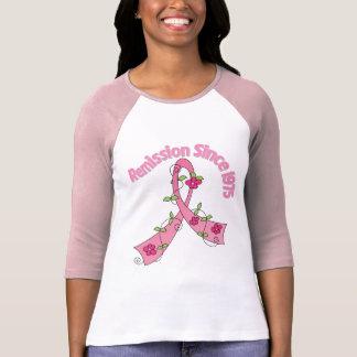 Remission Since 1975 Breast Cancer T-shirts