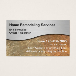 Home renovation business cards business card printing zazzle uk remodeling business cards colourmoves