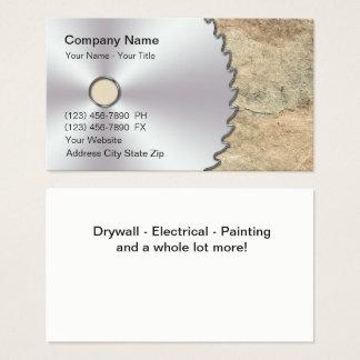 Remodeling Circular Saw Business Card