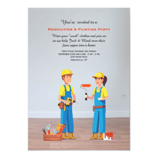 Remodeling Party Invitation