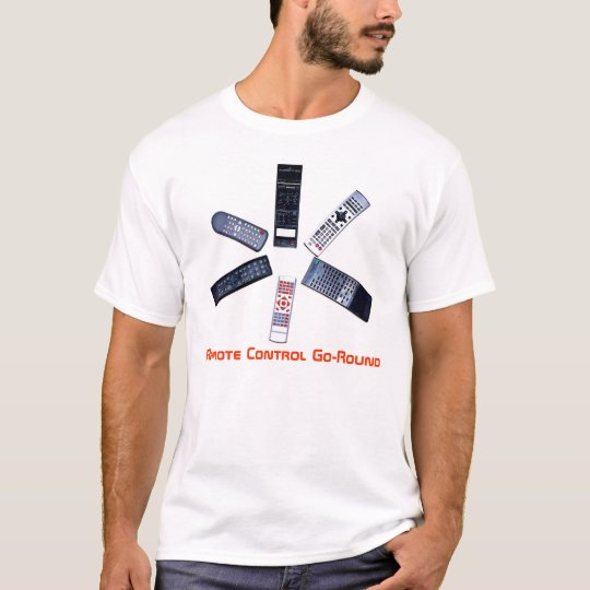 ,Remote Control Go-Round T-Shirt