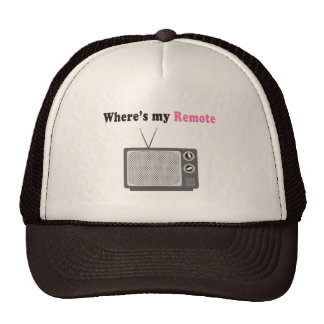 Remote Control Hats