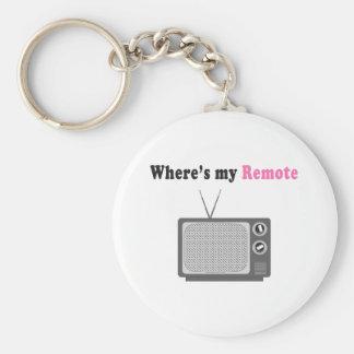 Remote Control Key Chain