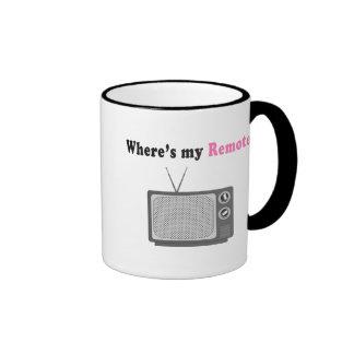 Remote Control Coffee Mug