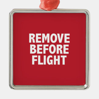 Remove Before Flight Christmas Tree Ornament