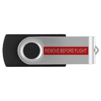 Remove Before Flight Swivel USB 2.0 Flash Drive