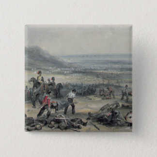 Removing the Dead and Wounded 15 Cm Square Badge