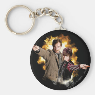 Remus Lupin and Nymphadora Tonks-Lupin Key Ring