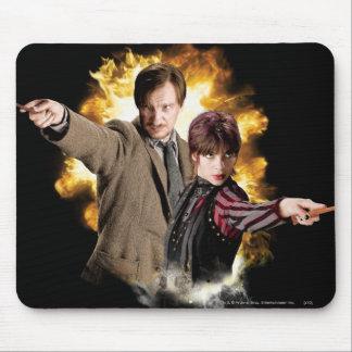 Remus Lupin and Nymphadora Tonks-Lupin Mousepad