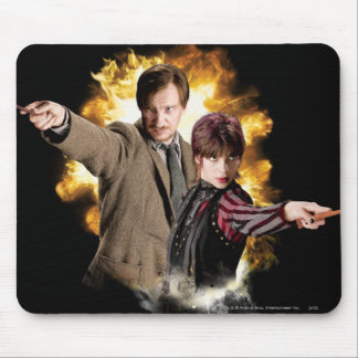 Remus Lupin and Nymphadora Tonks-Lupin Mousepad