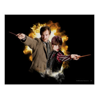 Remus Lupin and Nymphadora Tonks-Lupin Print