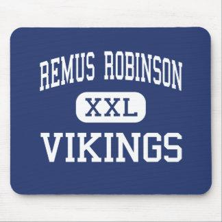 Remus Robinson Vikings Middle Detroit Mousepad