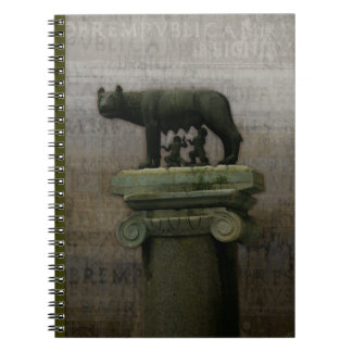 Remus Romulus and the she wolf Note Book