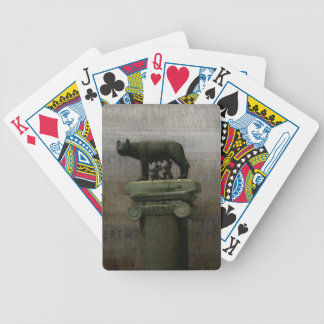Remus Romulus and the she wolf Card Decks