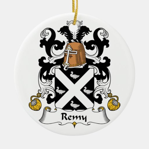 Remy Family Crest Ornaments