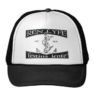 Ren Lyfe: Distressed Aldus Festina Lente Cap