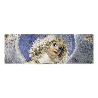 Renaissance Angel Bookmark Business Cards Melozzo