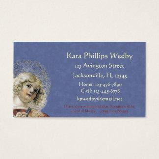 Renaissance Angel Business Cards Melozzo da Forli