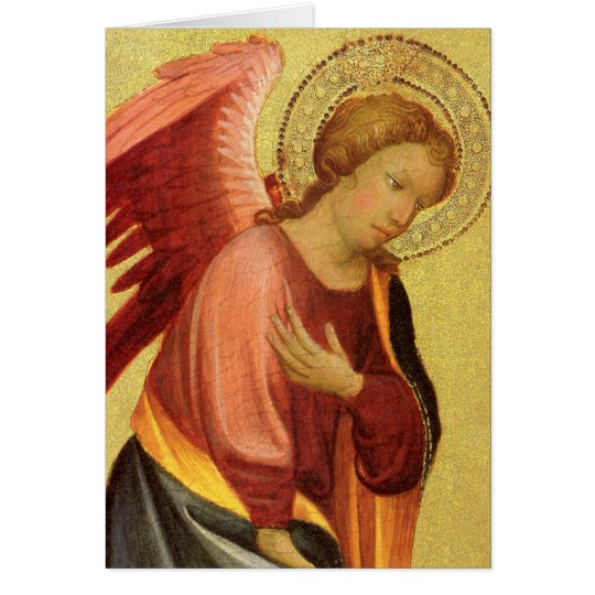Renaissance Angel by Master of the Bambino Vispo Card