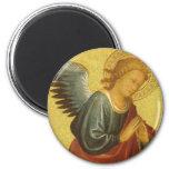 Renaissance Angel by Master of the Bambino Vispo Refrigerator Magnet