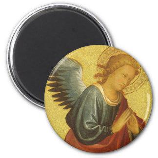 Renaissance Angel by Master of the Bambino Vispo Magnet