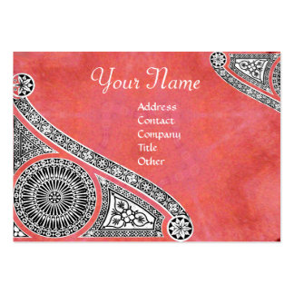 RENAISSANCE ARCHITECT,Architecture,Antique Pink Business Card Template
