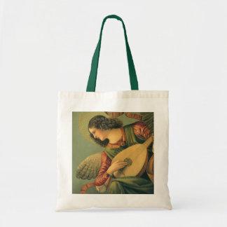Renaissance Art, Angel Musician, Melozzo da Forli Canvas Bags