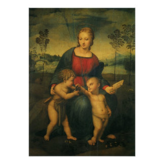 Renaissance Art, Madonna of the Goldfinch, Raphael Poster