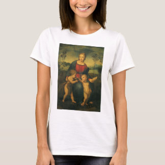 Renaissance Art, Madonna of the Goldfinch, Raphael T-Shirt