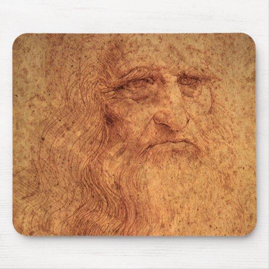 Renaissance Art Self Portrait by Leonardo da Vinci Mouse Mat