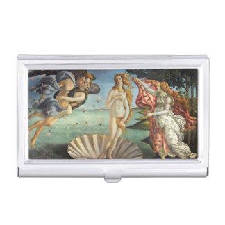 Renaissance Art, The Birth of Venus by Botticelli Business Card Holder