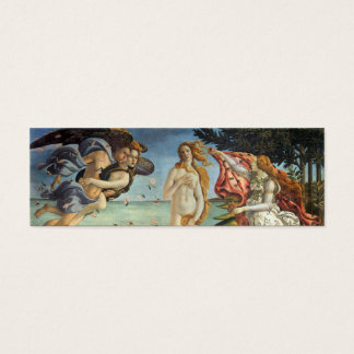 Renaissance Art, The Birth of Venus by Botticelli Mini Business Card