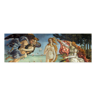 Renaissance Art, The Birth of Venus by Botticelli Pack Of Skinny Business Cards