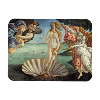 Renaissance Art, The Birth of Venus by Botticelli Rectangular Photo Magnet