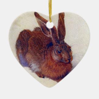 Renaissance Art, Young Hare by Albrecht Durer Christmas Ornament