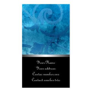 Renaissance blue pack of standard business cards
