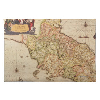 Renaissance Cartography Placemat