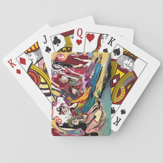 Renaissance Deco Cirque Series Poker Deck