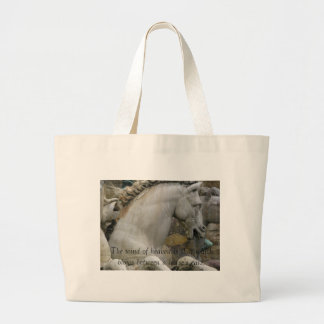 Renaissance Equestrian Statue Jumbo Tote Bag