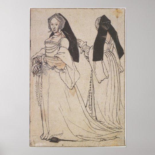 Renaissance Fashion Poster