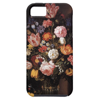 Renaissance flower bouquet painting case for the iPhone 5