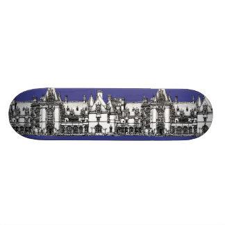 Renaissance Gothic drawing Skate Board