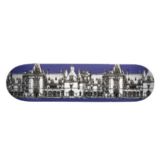 Renaissance Gothic drawing Skate Board