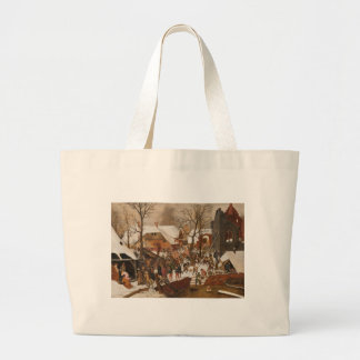 Renaissance Holy Nativity Canvas Bag