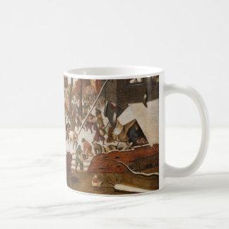 Renaissance Holy Nativity Basic White Mug